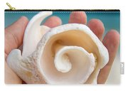 Shell In Hand Cozumel Carry-all Pouch