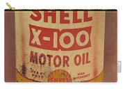 Shell Motor Oil Carry-all Pouch by Michelle Calkins