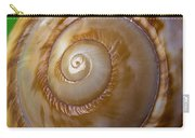 Shell Spiral Carry-all Pouch