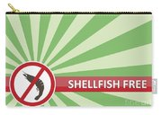 Shellfish Free Banner Carry-all Pouch