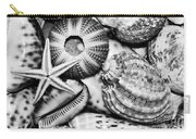 Shellscape In Monochrome Carry-all Pouch