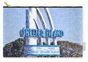 Shelter Island Sign San Diego California Usa Carry-all Pouch