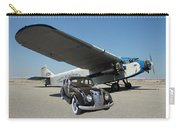 Shelter Of Your Wings Carry-all Pouch