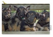 Shepherd Pups 2 Carry-all Pouch
