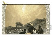 Shepherds And Angel Carry-all Pouch