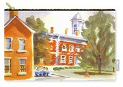Sheriffs Residence With Courthouse Carry-all Pouch