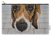 Sherlock The Beagle Carry-all Pouch