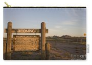 Sherman Mountains Wyoming Carry-all Pouch