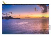 Sherri's Sunset St. Lucia Carry-all Pouch