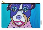 She's A Pit Bull That Wears Lipstick Carry-all Pouch