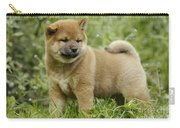 Shiba Inu Puppy Dog Carry-all Pouch