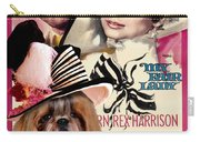 Shih Tzu Art - My Fair Lady Movie Poster Carry-all Pouch