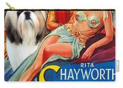 Shih Tzu Art - Salome Movie Poster Carry-all Pouch