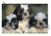 Shih Tzu Puppy Dogs Carry-all Pouch