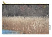Shimmering Gold Grasslands Carry-all Pouch