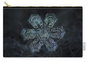 Snowflake Photo - Shine Carry-all Pouch by Alexey Kljatov