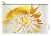 Shining Yellow Flower Carry-all Pouch