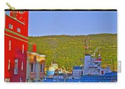 Ship At The End Of Water Street In Saint John's-nl Carry-all Pouch