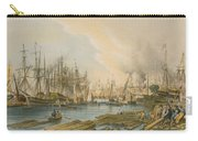 Ship Building At Limehouse Carry-all Pouch