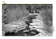 Ship Creek Carry-all Pouch by Ed Boudreau