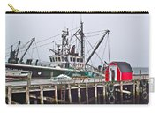 Ship Docked In Lunenburg-ns Carry-all Pouch