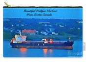 Ship In Beautiful Halifax Harbour Carry-all Pouch