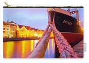 Ship In Harbor Carry-all Pouch