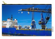 Ship In Port Carry-all Pouch