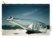 Ship In The Bottle Carry-all Pouch