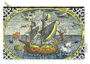 Ship Of Magellan Carry-all Pouch
