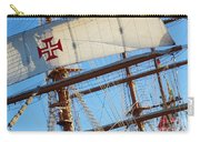 Ship Rigging Carry-all Pouch by Carlos Caetano