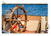 Ship Wheel Carry-all Pouch