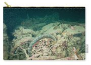 Ship Wreck And Motorbikes Carry-all Pouch