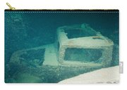 Ship Wreck With Trucks Carry-all Pouch