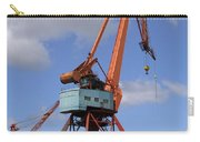 Shipping Industry Crane 06 Carry-all Pouch