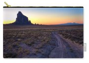 Shiprock Sunset Carry-all Pouch