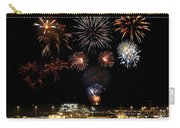 Ships And Fireworks Carry-all Pouch