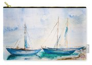 Ships In The Sea Carry-all Pouch