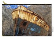 Shipwreck At Smugglers Cove Carry-all Pouch