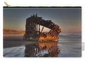 Shipwreck At Sunset Carry-all Pouch