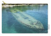 Shipwreck In Big Tub Harbour Carry-all Pouch