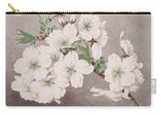 Shirayuki - White Snow - Vintage Japan Watercolor Carry-all Pouch