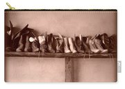 Shoes Carry-all Pouch by Fran Riley