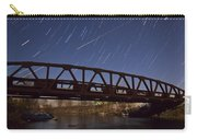 Shooting Star Over Bridge Carry-all Pouch