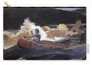 Shooting The Rapids Saguenay River Carry-all Pouch