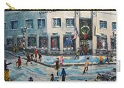Shopping At Grover Cronin Carry-all Pouch by Rita Brown
