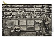 Shopping At The General Store Carry-all Pouch by Priscilla Burgers