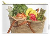 Shopping For Orrganic Fruit And Vegetables  Carry-all Pouch