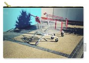 Shopping Trolleys  Carry-all Pouch by Les Cunliffe