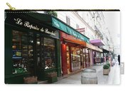 Shops On Rue Cler Carry-all Pouch